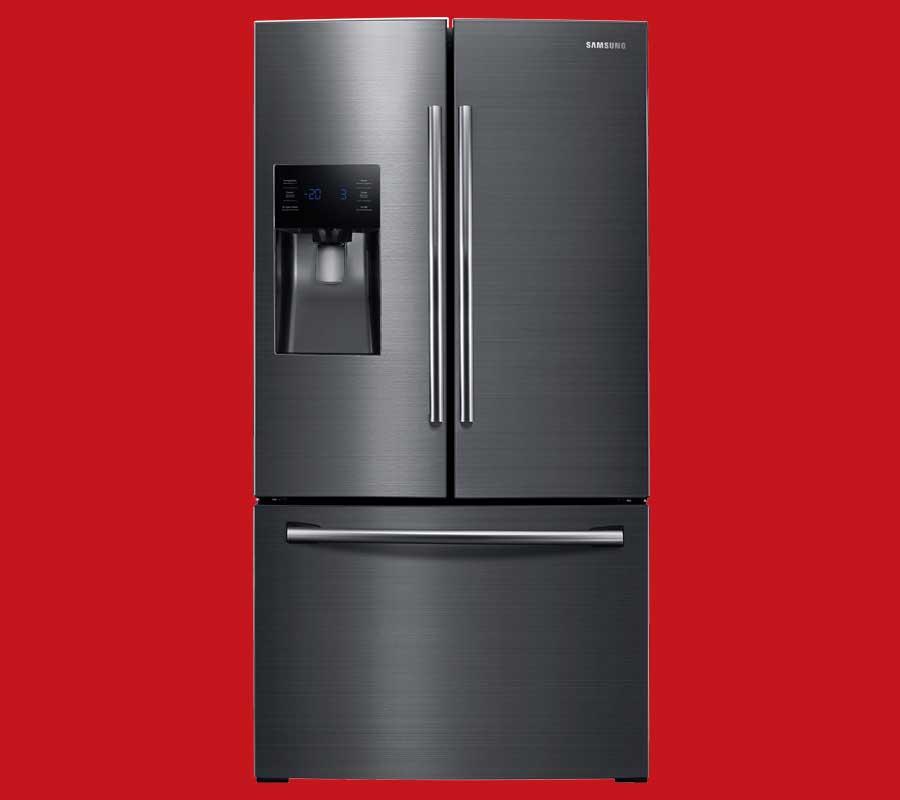 Black Stainless Steel Samsung Refrigerator